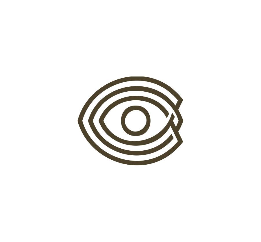 Branding para Ollo fotográfico por cdaestudio